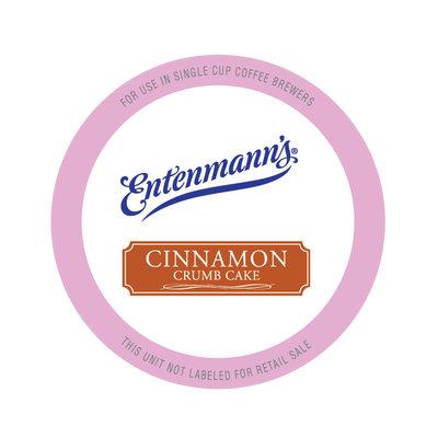 Entenmann's Single Serve Coffee for Keurig, Cinnamon Crumb Cake, 20 Ct