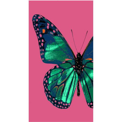 Loftex your zone beach towel, real butterfly