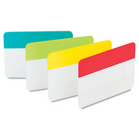 3M Index Tabs and Dividers Durable File Tabs, Write-On, Assorted