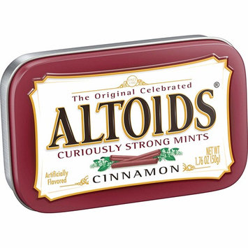 Altoids Cinnamon Twin Pack - 6 packs per box, 12 per case