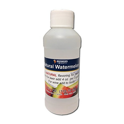Brewer's Best Natural Beer and Wine Fruit Flavoring (Watermelon), 4 fl. oz.
