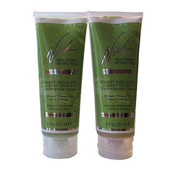 Nick Chavez Professional Velvet Mesquite Shampoo and Conditioner Cream
