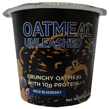 Oatmeal Unleashed, Peach Vanilla Almond, 2.3 oz.