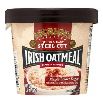 Mccann's Mccanns 974127 1.9 oz Oatml Instant Cup Maple Brown Sugar Pack of 12