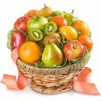Orchard Favorites In Keepsake Fruit Basket Gift [All Occasion]