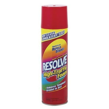 Resolve High Traffic Carpet Foam, 22 oz Can, Cleans Freshens Softens & Removes Stains [1]