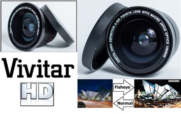 Pro Series New Super Wide Hi Def Fisheye Lens for Pentax K-3 K-3 II M2 K-50 K-S1 (52mm Compatible)