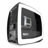 NZXT Manta Matte White + Black Mini-ITX Case