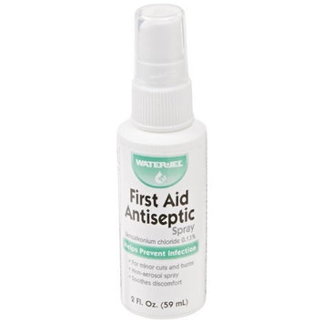 Waterjel 2513 Antiseptic Pump Spray, 2 oz Bottle