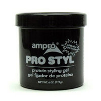 Ampro Pro-Styl Protein Hair Gel, Super Hold - 6 Oz