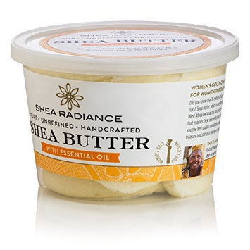 Shea Radiance - Shea Butter Luxe Tub with Essential Oil - 14 oz