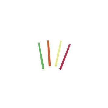 Waddington North America Assorted Fat Neon Straws, 6