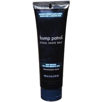Bump Patrol Cool Shave Gel 4 Ounce Tube (Sensitive) (118ml) (6 Pack)