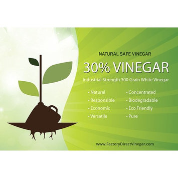 30% Pure Vinegar - Home&Garden (2 Gallon case)