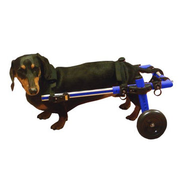 Handicappedpets.com Dog Wheelchair For Small Dogs 8-25 lbs Blue - By Walkin' Wheels