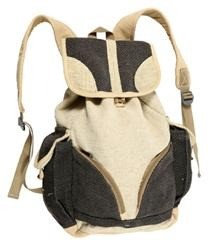 Hemp Cotton Backpack Large Earth Divas 1 Bag
