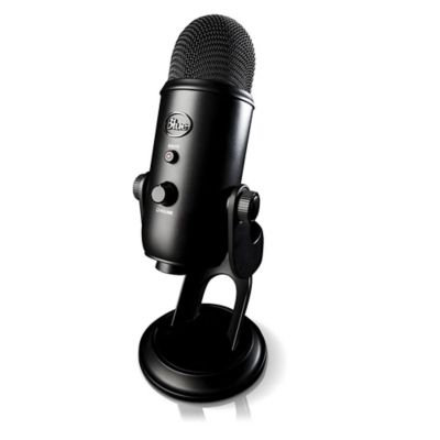 Blue Microphones Yeti Microphone - 20 Hz to 20 kHz - Wired - Bi-directional, Cardioid, Omni-directional - Desktop - USB