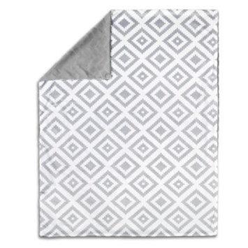 The Peanut Shell Tile Velour Blanket