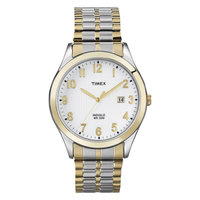 Men's Timex Expansion Strap Watch - Gold/Silver