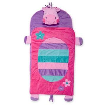 Stephen Joseph Portable Nap Mat, Pillow & Blanket, Size One Size - White