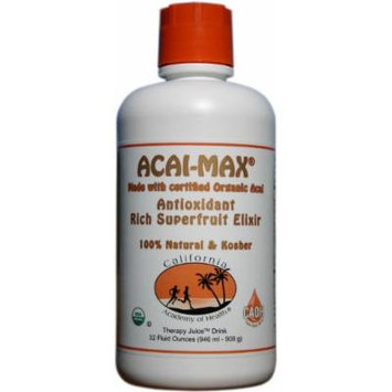 Acai Max - Organic Acai Juice Blend from CAOH® (1 - 32 oz Bottle)