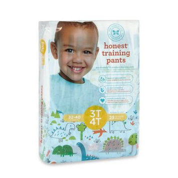 Honest Size 3-4T 23-Pack Training Pants in Dinosaur Pattern