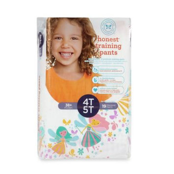Honest Size 4-5T 19-Pack Training Pants in Fairy Pattern