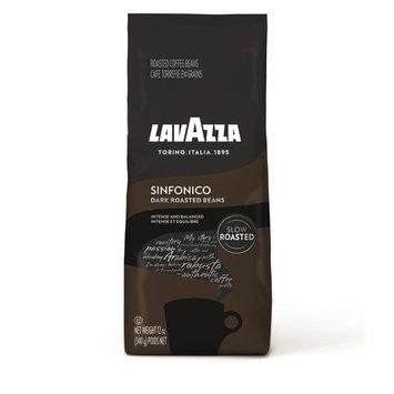 Lavazza Sinfonico Whole Bean Coffee Blend, Dark Roast, Dark Roast, 12 Ounce