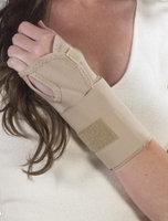 Bilt-Rite Mastex Health 10-22100-SM-2 Wrist Splint Ambidextrous Beige - Small