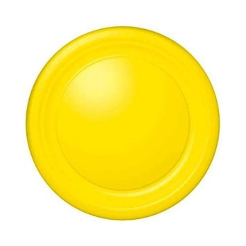 Yellow Paper Plates-10 1/2