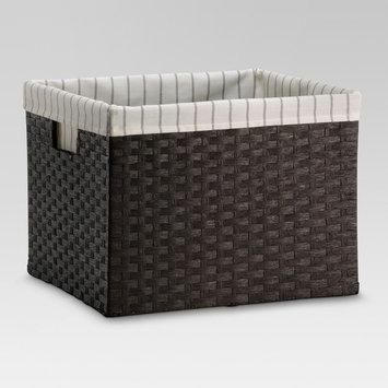 Threshold Paper Rope Large Crate - Dark Brown