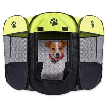 Unique Petz Portable Collapsible Dog Playpen