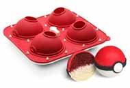 Poké Ball Cupcake Pan by ThinkGeek