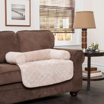 Innovative Textile Solutions Large Plush Bolster Chair Protector Cream