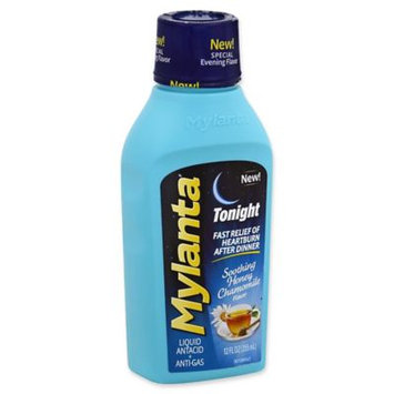 Mylicon Mylanta Tonight Honey Chamomile Liquid Antacid + Anti-Gas, 12 fl oz
