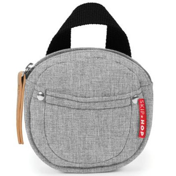 SKIP*HOP® Grab & Go Pacifier Pocket in Grey Melange