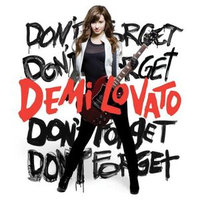 DON'T FORGET BY LOVATO, DEMI (CD)
