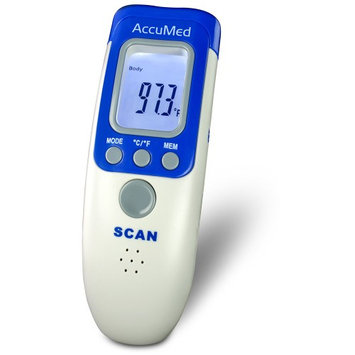 Accumed Non-Contact, Instant-Read Handheld Infrared Medical Thermometer