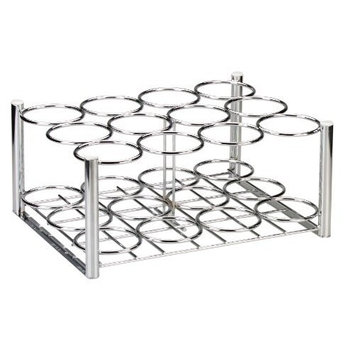 Drive Medical Deluxe Oxygen Cylinder Rack, Chrome, 16