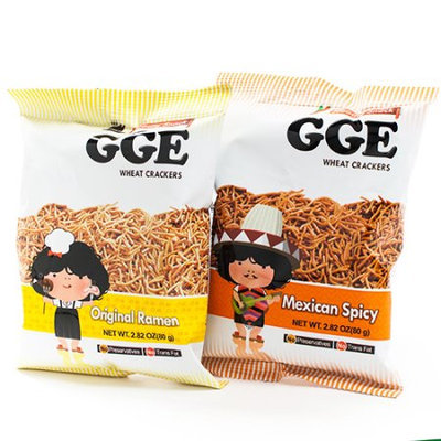 Wei Lih GGE Wheat Crackers Mexican Spicy