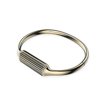Fitbit Flex 2 Bangle - Gold, Large by Fitbit