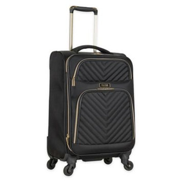 Kenneth Cole Reaction - Chelsea - 20 Quilted Expandable 4-Wheel Upright Carry On (Black) Luggage
