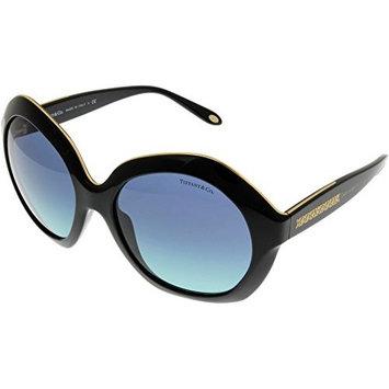 Tiffany & Co. Sunglasses Oversized Womens Black TF4116 80019S Size: Lens/ Bridge/ Temple: 56_18_140