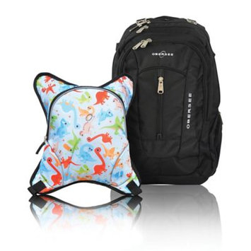 Obersee Bern Diaper Bag Backpack and Cooler Dinos - Obersee Diaper Bags & Accessories