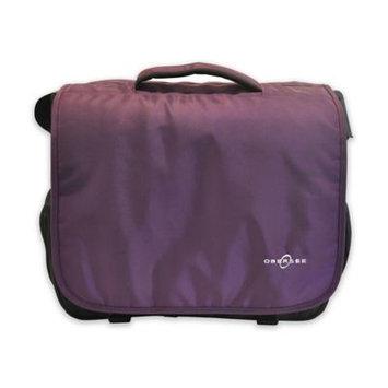 Obersee Madrid Convertible Diaper Backpack Messenger Bag Purple - Obersee Diaper Bags & Accessories