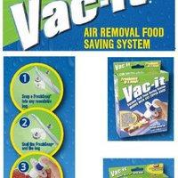 Widgeteer Vac-It Vacuum Seal System Starter Kit