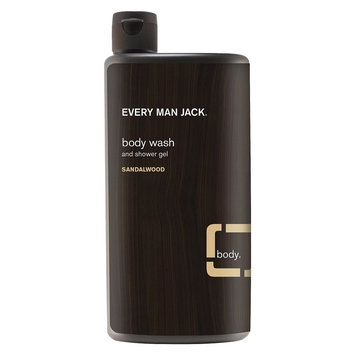 Every Man Jack Body Wash Sandalwood - 16.9oz