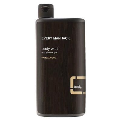 Every Man Jack Body Wash Sandalwood - 16.9oz