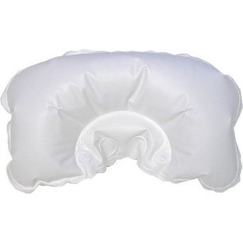Bath Dlight White Inflatable Bath Pillow