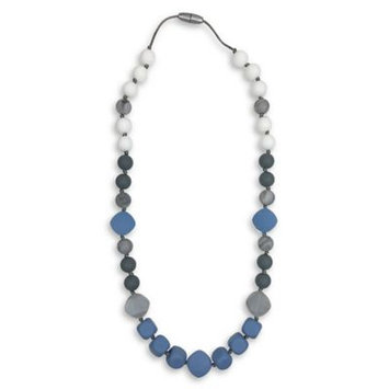 Itzy Ritzy® Teething Happens™ Chewable Silicone Mom Jewelry Teether Necklace in Opal Moon